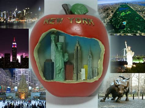 New York City Famous Big Apple Travel All Together