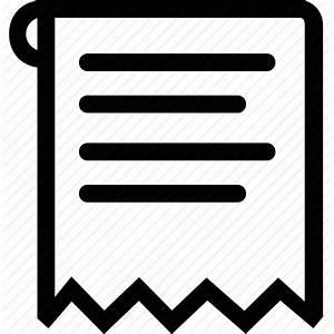 Receipt icon | Icon search engine