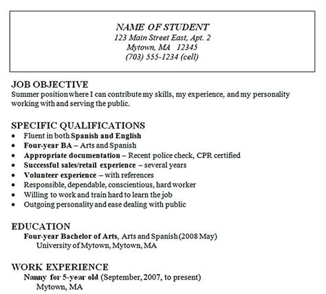 Great Chronological Resume by Chronological Resume Is One Of The Most Popular Formats