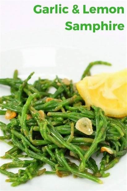 Recipe Garlic Samphire Side Lemon Searchingforspice Recipes