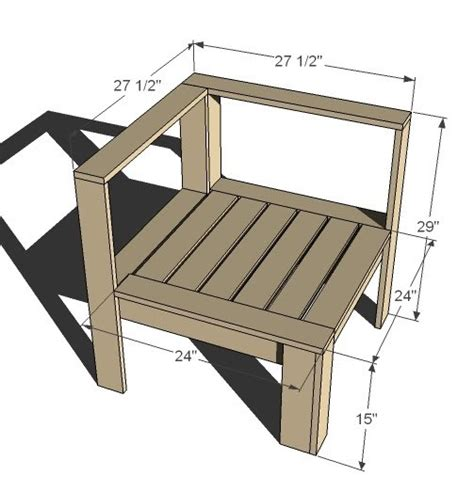 ana white corner  ends  outdoor sectional diy