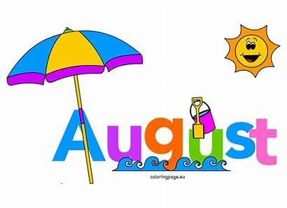 Clip August Month