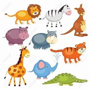 Wild animals clipart - Clipground