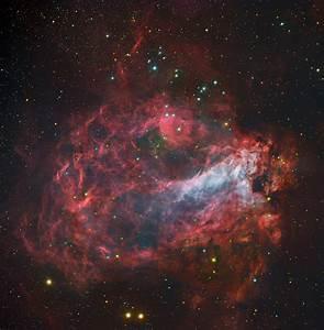 APOD: 2013 April 18 - Star Factory Messier 17