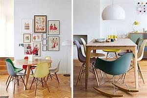 Decoration idee inspiration avec chaise de table rar pied for Deco cuisine avec ou acheter des chaises