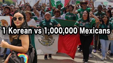 korean  mexico city reacts  mexico  korea