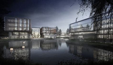 ennead architects  build huawei research center  wuhan