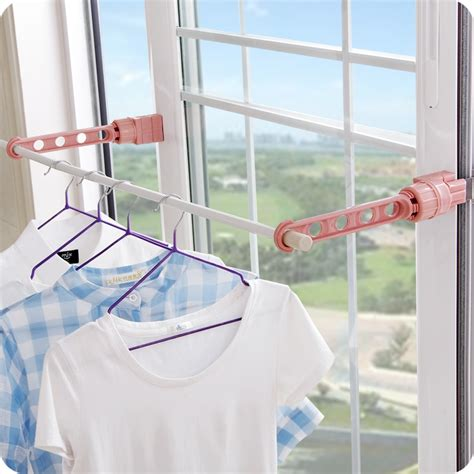 Balcony Sill by Vanzlife Indoor Plastic Drying Rack Window Sill Drying