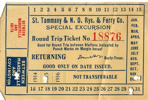 Boat Tickets by Photo Document Archives