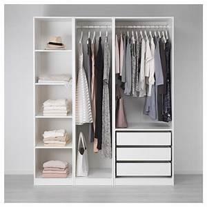 Garderobe 30 Cm Tief : pax wardrobe white 175 x 58 x 201 cm ikea ~ Frokenaadalensverden.com Haus und Dekorationen