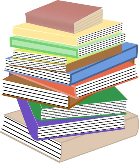 stack of books clipart png stack of books taller clip at clker vector clip
