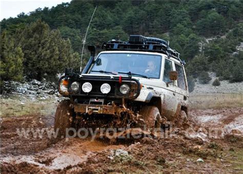 Toyota 4x4 Arazi Aracı, Off Road, Land Cruiser, Bj60, Bj70