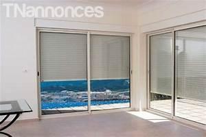 Rideau Fenetre Aluminium : baie vitree aluminium fenetre en aluminium store rideau ~ Premium-room.com Idées de Décoration