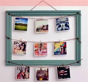 Fabriquer Un Cadre Photo : diy comment fabriquer un cadre photo original bricobistro ~ Dailycaller-alerts.com Idées de Décoration