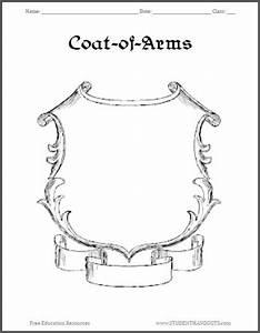 Coat Of Arms Template  Coat Of Arms Template