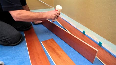 install  hardwood floating floor youtube