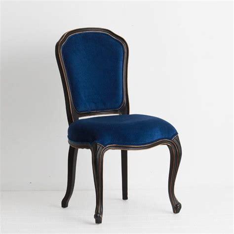 navy blue velvet dining chair a classic
