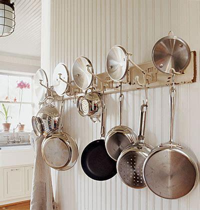 kitchen hooks for pots and pans 10 alternative ways to use coat hooks