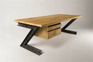 Karmoi Industriedesign Schreibtisch Eiche