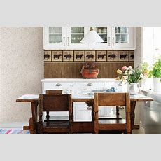 Country Kitchen Wallpaper Decorating Ideas  Wallpaper