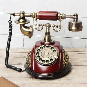 Antique Style Rotary Phone Princess French Style Old