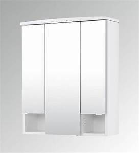 Wandregal Weiß 60 Cm Breit : bad spiegelschrank neapel 3 t rig 60 cm breit wei bad spiegelschr nke ~ Bigdaddyawards.com Haus und Dekorationen