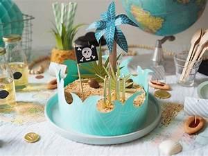 Deco Anniversaire Pirate : anniversaire birthday gateau de pirate diy pinterest ~ Melissatoandfro.com Idées de Décoration
