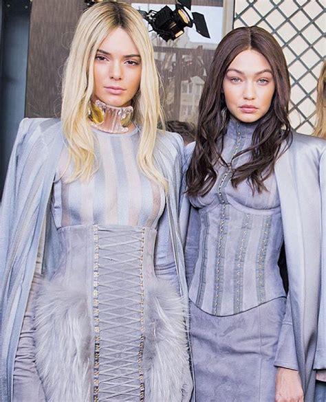 GIGI HADID & KENDALL JENNER FOR BALMAIN - V Fashion World