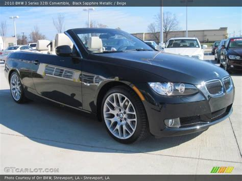2010 Bmw 328i Convertible by 2010 Bmw 3 Series 328i Convertible In Black Sapphire