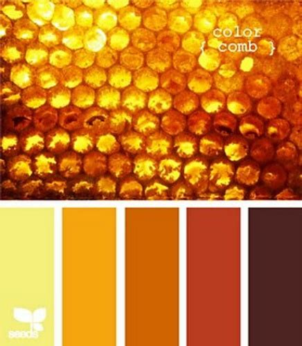 honey color honeycomb colors shades of mustard rust gold