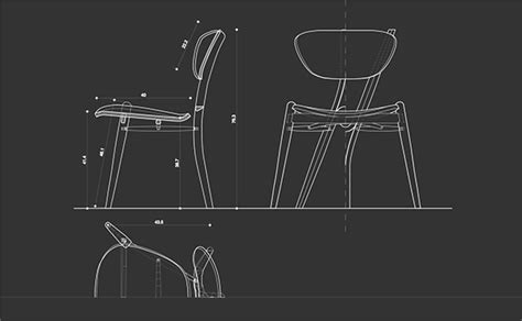 y chair on behance