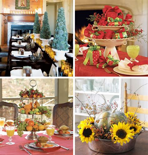 table decoration ideas for parties 50 great easy christmas centerpiece ideas digsdigs
