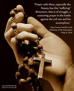 Quotes About Th... Rosary Quotes
