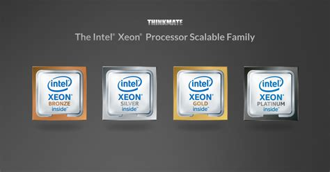 intel xeon scalable      thinkmate