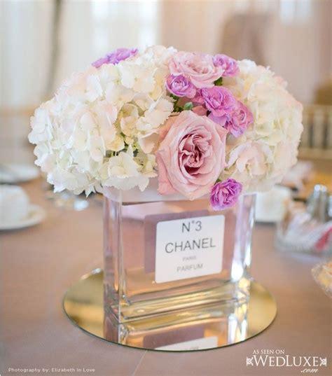chanel perfume centerpiece cool idea color palette
