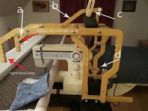 My Sewing Machine Obsession  Grace Machine Quilt Frame