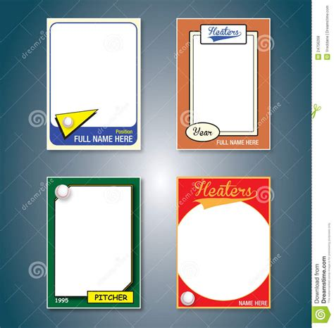 baseball card clipart  clip art