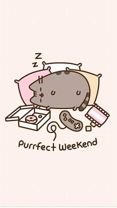 Pusheen Cat Weekends Weekend