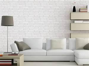 Papier Peint Trompe L Oeil Brique : faux mur nu vraie d co joli place ~ Premium-room.com Idées de Décoration