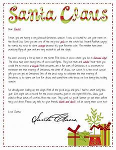 religious focused santa letters personalized letter from With religious christmas letters