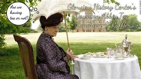 Come To Tea With The Glenview History Center!