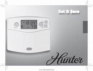 Hunter Thermostat 44360 Wiring Diagram