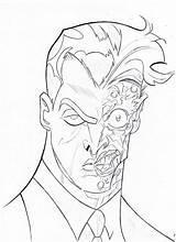 Face Batman Coloring Pages Drawing Sketch Ugly Getdrawings Printable Getcolorings Popular sketch template