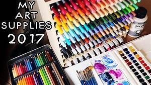 My Art Supplies 2017
