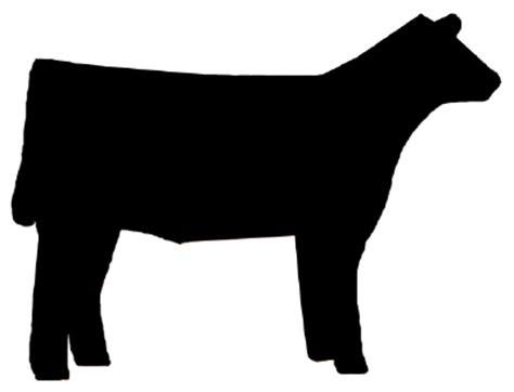 show heifer clip art