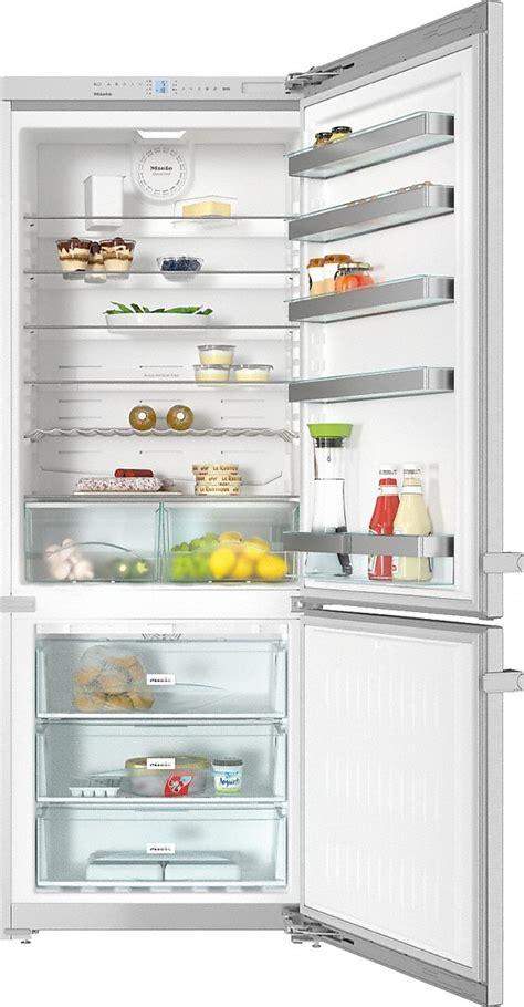 miele kfn 15943 d edt cs freestanding bottom mount fridge