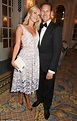 Brendan Cole and wife Zoe Hobbs at West End theatre launch ...
