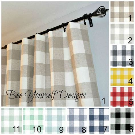 1000 ideas about gingham curtains on country