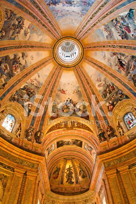 Cupola Sf by Madrid Cupola Of Basilica De San Francisco El Grande Stock