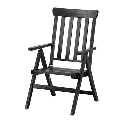 196 ngs 214 reclining chair outdoor foldable black brown